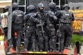 Members of the Indonesian elite anti-terror police unit 'Densus 88', also known as Detachment 88. Photo: AFP