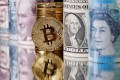Bitcoin adverts have appeared in newspapers and televised broadcasts recently as supporters of the cryptocurrency look to capitalise on concerns over US financial sanctions. Photo: Reuters
