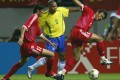 Brazil's Ronaldo vies for the ball with China's Du Wei and Xu Yunlong at the 2002 Fifa World Cup. Photo: AFP