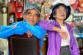 Are these the world's oldest Instagram influencers? This Taiwanese couple is taking others to the cleaners. Photo: @wantshowasyoung/Instagram