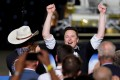 Musk joined Zuckerberg, Bezos and Microsoft co-founder Bill Gates in the rarefied centibillionaire club last week as technology stocks rose. Photo: Reuters