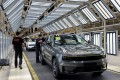 Employees work on a Lynk & Co car production line at Geely's Yuyao plant in Ningbo city, Zhejiang province. Photo: Reuters