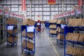 While it is the operator of the country's largest online marketplaces Taobao and Tmall, Alibaba does not have a big dispatch fleet of its own in China. Photo: Reuters