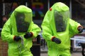 Little was known of the Novichok family of toxins until 2018, when they were used in the English city of Salisbury in the attempt to kill a Russian ex-spy. File photo: AFP