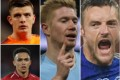 Do Fantasy Premier League stars Nick Pope (Burnley), Trent Alexander-Arnold (Liverpool), Kevin De Bruyne (Manchester City) and Jamie Vardy (Leicester City) make the team this season? Photo: EPA, Reuters