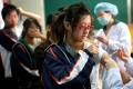About 30 million flu shots are usually given in China each year, according to official data. Photo: AFP