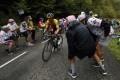 Slovenia's Primoz Roglic has taken the overall lead at the Tour de France. Photo: AP