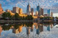 Melbourne, whose brilliant skyline is seen here from Southbank, is one of the sought-after cities by property investors given a large pool of university students. Photo: Handout