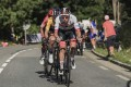 Slovenian rider Tadej Pogacar UAE-Team Emirates in action during the eighth stage of the Tour de France. Photo: EPA