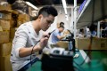 China is aggressively expanding its domestic tech sector in the face of US sanctions. Photo: AFP