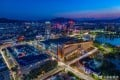 Modern Zhaoqing – the largest city in the bay area project but also one of the least developed. Photo: WEIBO