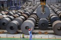 China, the world's biggest steel producer, has long been accused of flooding the international market with cheap, subsidised steel. Photo: Reuters