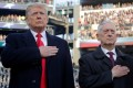US President Donald Trump and for defence secretary James Mattis. Photo: Reuters