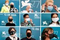 The 77th Venice International Film Festival featured safety measures like required face masks; director Pedro Almodóvar, actor Tilda Swinton, director Abel Ferrara, president of the jury Cate Blanchett, actor Vanessa Kirby, director Ann Hui, actor Katherine Waterston, director Malgorzata Szumowska, member of the jury Matt Dillon and actor Radha Mitchell don masks while posting at the festival. Photos: Reuters