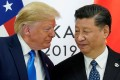 US President Donald Trump and China's President Xi Jinping pictured at the G20 leaders summit in Osaka, Japan, in 2019. Photo: Reuters