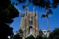 The ornate Sagrada Familia, which was designed by modernist Catalan architect Antoni Gaudi. Construction began 140 years ago and was due for completion in 2016 to mark the 100th anniversary of Gaudi's death. Picture: AFP