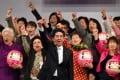 Japanese Prime Minister Shinzo Abe said he wanted women 'to shine'. Photo: AFP