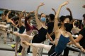 Jessica Burrows (centre), from the Hong Kong Ballet, has spent much of the coronavirus-hit year practising alone. Photo: Nora Tam