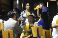 People drink at a bar in Central on Friday after the venues were allowed to resume operation. Photo: Winson Wong
