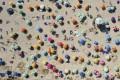 An aerial view of Shek O beach on a hot day on May 3. Photo: Sam Tsang