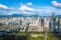 An aerial view of Shenzhen, the richest city in southern Guangdong province and home to Tencent, Huawei and Ping An Insurance, among others. Photo: Xinhua