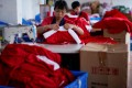 The city last year exported around 1.92 billion yuan (US282 million) worth of Christmas products between January and October, up 23.9 per cent from the previous year, according to government data.