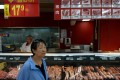 China, which produces about half the world's pork, has boosted imports by 134 per cent in the first eight months of 2020 to partly offset its shortfall. Photo: Reuters