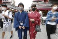 Japan currently bans in principle the entry of foreigners from 159 countries and regions. Photo: Kyodo