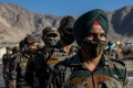 Indian soldiers at a forward airbase at Leh in the Ladakh region. Photo: Reuters