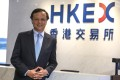 Charles Li Xiaojia, CEO of Hong Kong Exchanges and Clearing Limited, to step down earlier than expected. Photo: SCMP