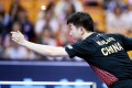Ma Long at the Seamaster 2019 ITTF World Tour Platinum China Open in Shenzhen. Photo: Remy Gros (ITTF)