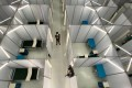 A newly constructed Covid-19 isolation facility in Manila, capital of the Philippines. Photo: EPA