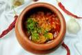 A pork vindalho from Hospedaria Venite restaurant, which serves Goan food in Panaji, Goa, India. Vindaloo originated in Portugal and was brought to India by Portuguese explorers. Photo: Hospedaria Venite