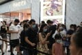 Customers line up to enter a Gucci store in a duty-free shopping centre in Hainan, southern China. Growing duty-free, in-store and e-commerce sales of luxury goods in the country this year have led global luxury brands to plan expansion in China, as sales slump elsewhere amid Covid-19. Photo: Reuters