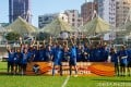 Eastern Long Lions celebrate winning the 2019-20 Senior Shield at Mong Kok Stadium on October 2, 2020. Photo: HKFA