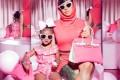 Cardi B and daughter Kulture sporting matching Hermès Birkin handbags. Photo: @iamcardib/Instagram