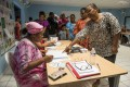 Voters in Noumea, New Caledonia. Photo: AP
