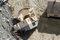 A destroyed house in Saint-Martin-Vesubie, France. Photo: AFP