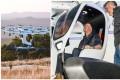 Jeff Bezos on Lift Aircraft's Hexa. Photo: @LIFTAircraft/Facebook