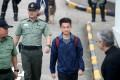 Chan Tong-kai on his release from prison for money-laundering charges last October. Photo: Winson Wong