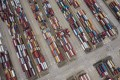 Shipping containers sit at the Yangshan Deepwater Port in Shanghai on July 12. Ensuring sustainable, efficient connectivity in transport and trade will be essential to the Asia-Pacific's development goals and recovery from the pandemic. Photo: Bloomberg