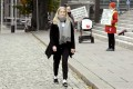 Aava Murto, 16, took over the job of Finnish Prime Minister Sanna Marin for a day in Helsinki on Wednesday. Photo: AFP