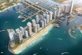 Emaar Beachfront Dubai is a new high-end area with its own mall and marina in the emirate of Dubai, UAE. Photo: Luxuryproperty.com