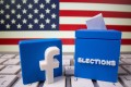 Facebook has long considered changes to its political advertising policy, including a full-on ban in the days leading up to the election, but has settled on a more nuanced approach. Photo illustration: Reuters