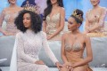 Pacharaporn 'Nam' Chantarapadit (in white), Miss Grand Thailand 2020. Photo: Facebook