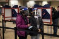 People line up to cast their ballots for the upcoming US presidential election as early voting begins in Cincinnati, Ohio. Photo: Reuters