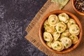 Please to the Table, by food historian Anya von Bremzen and John Welchman, contains recipes for classic Russian dishes, including pelmeni, as well as for lesser known dishes. Photo: Handout