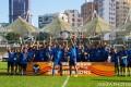 Eastern Long Lions celebrate winning the 2019-20 Senior Shield at Mong Kok Stadium. Photo: HKFA