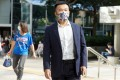 HKU student To Kai-wa appears at the District Court for a hearing on Monday. Photo: Winson Wong