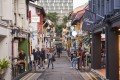 The Kampong Glam area of Singapore. The country's economy could be showing signs of life, with third-quarter GDP increasing slightly from the second quarter. Photo: Bloomberg